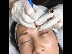 Live eyebrow Microblading and STIPPLING/SHADOW by Tina Davies, part 2 of 2