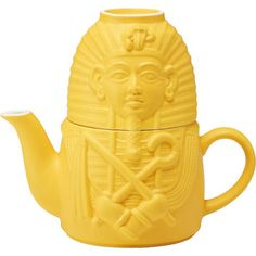 Tutankhamen Tea For One now featured on Fab.