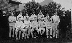 Cricket team postcard circa 1950's? by gedtee, via Flickr