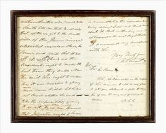 """Autograph Letter Signed. Grant, U(lysses) S. Long Branch, N.J., August 9th, 1884. 4 pp., 8vo. Minor wear. To Theo W. Bean, discussing Lee's surrender. """"... But my first letter to Lee was sent to him on the 7th of April summoning him to surrender,.... What lead me to write to Lee is this..."""" #FreemansAuction"""