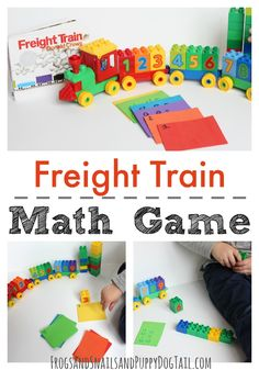 Freight Train Math Game - FSPDT