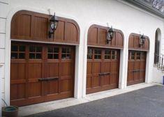 Garage Entry Door, Front Entry, Entry Doors, Custom Garages, Modern Traditional, Door Design, Custom Design, Gallery, Outdoor Decor