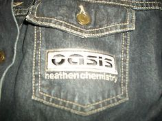 Oasis Heathen Chemistry' Promotional Big Brother Denim Jacket 2002 XL New UNWORN | eBay