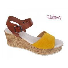 Valeria's 4122 Ταμπά κίτρινο - ocre