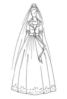 ¡Inspírate con los vestidos de novia más icónicos de la realeza!