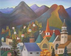 Rossland BC my favourite place! Emily Carr Paintings, British Columbia, Amazing Places, Good Times, The Good Place, January, Illustration Art, Xmas, Canada