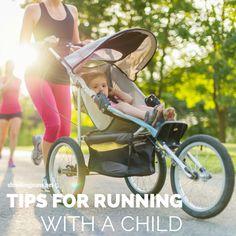 Tips for Running with a Child #running #children #stroller #motivation #shrinkingjeans