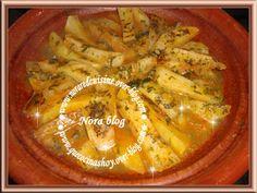 Cocina con Nora (cocina marroquí): Tajín rápido de patatas