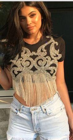 Kendall Jenner wearing Balmain