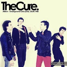 The Cure – Underground Club 1980 [VHSRip]