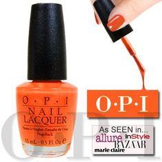 OPI Brights Nail Lacquer -Atomic Orange