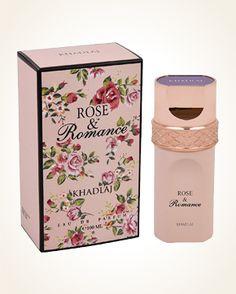 Khadlaj Rose & Romance parfémová voda 100 ml Water Spray, Perfume Collection, Lily Of The Valley, Romance, Rose, Floral, Lily, Romance Film, Romances