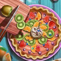 Pie Realife Yemek Yapma Oyunu Oyun Taze Meyve Yemek