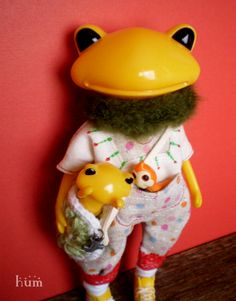 Doll Toys, Dolls, Cute Frogs, Frog And Toad, Plushies, Cute Animals, Plastic, Christmas Ornaments, Craft