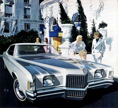 1971 Pontiac Grand Prix Hardtop Coupe - 'The Negresco Nice': Art Fitzpatrick and Van Kaufman