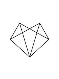 Fox Head Geometric Fox Fox Art Black and White Geometric
