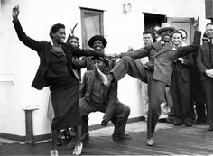 The Lindy Hop is said to have been born in Harlem, New York, at the Savoy Ballroom in 1927.