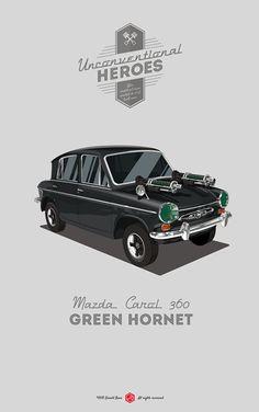 UnconventionalHeroes - Green Hornet on Behance
