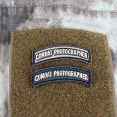 ECHO NiNER - Combat Photographer Shoulder Tab Patch, $3.00 (http://store.eniner.com/combat-photographer-shoulder-tab-patch/)