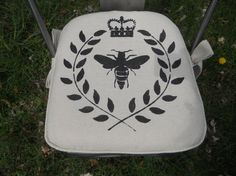 Check out this item in my Etsy shop https://www.etsy.com/listing/98770866/chair-pad-2-inch-foam-made-to-order
