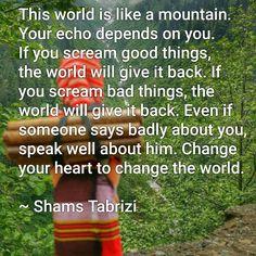 Shams Tabrizi quote...
