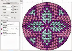 Have fun :) Please click image to enlarge Given dimensions are for Miyuki Delicas Peyote Stitch Patterns, Beading Patterns Free, Bead Loom Patterns, Weaving Patterns, Beading Tutorials, Bracelet Patterns, Free Tutorials, Mochila Crochet, Tapestry Crochet Patterns