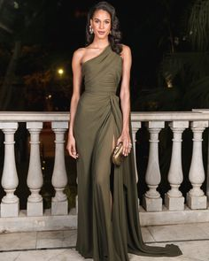 Throwback to a statuesque @cindybruna in ELIE SAAB for @voguearabia's one year anniversary celebration in Beirut
