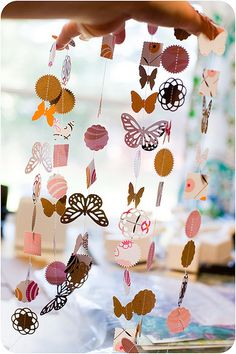 use your scraps week | punched garlands + embellishment stickers
