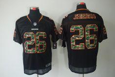 Tim Jennings Jersey Camo Fashion Elite #26 Nike NFL Chicago Bears Jersey  ID:980311110  $24