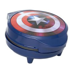 Captain America Waffle Iron in color .