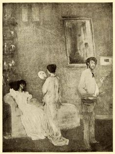 1911 Print James Abbott McNeill Whistler Artist Studio Art Douglas XAE7
