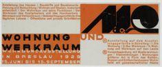Johannes Molzahn. Wohnung und Werkraum. 1929