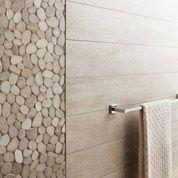 Carrelage sol et mur beige, Taiga l.15 x L.90 cm | Leroy Merlin