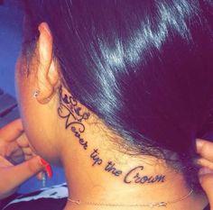 cute tattoos on neck Hand Tattoos, Bff Tattoos, Dope Tattoos, Dream Tattoos, Girly Tattoos, Pretty Tattoos, Beautiful Tattoos, Body Art Tattoos, Small Tattoos