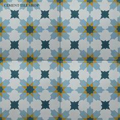 Cement Tile Shop - Handmade Cement Tile | Rabat Gold