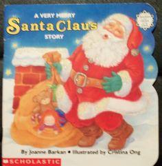 Children's  Sparkle and Glow Christmas Book  by VintageCellarDoor