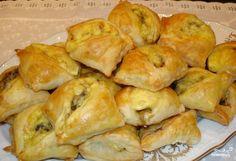 Закусочные пирожки с грибами и сыром