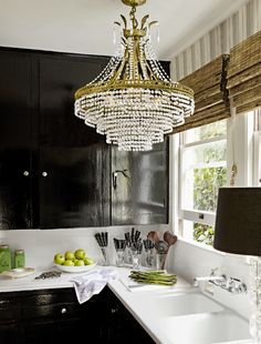 A touch of glamour in the kitchen