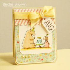 Big Birthday Wishes, Created by Torico Birthday Card Sayings, Birthday Wishes, Birthday Cards, Baby Cards, Kids Cards, Card Tags, I Card, Happy B Day Cards, Animal Cards