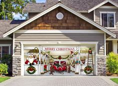 """Home Design Christmas Decoration Ideas Garage Here Are Some Ideas As To How You Can """"Wow"""" Your Neighbours! 625x458"""