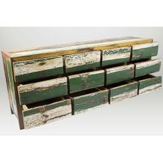 Ecologica Furniture Reclaimed Wood 12-drawer Dresser