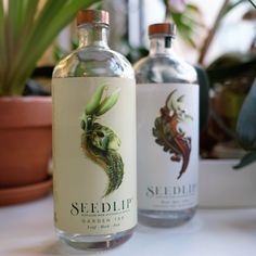Seedlip The Non-Alcoholic Spirit: Two copper-pot-distilled handcrafted liquids lending the illusion of alcohol