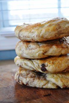 The Art of Comfort Baking: Cinnamon Raisin Bagels