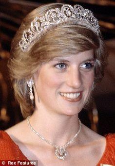 Princess Diana in 1983.