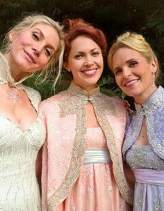 The lovely princesses of Arendale.... #OUAT