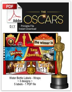 263671753156796695 as well Throwing An Oscar Party in addition Oscar Vote Sheet moreover Hollywood party favors besides The Sos Band. on oscar hollywood night party ideas games recipes