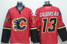 http://www.xjersey.com/flames-13-gaudreau-red-reebok-jersey.html FLAMES 13 GAUDREAU RED REEBOK JERSEY Only $50.00 , Free Shipping!