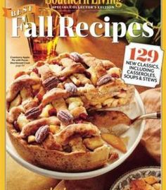 Stir sizzle bake recipes for your cast iron skillet pdf cookbooks southern living best fall recipes 129 new classics including casseroles soups stews pdf forumfinder Choice Image