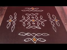 Rangoli Borders, Rangoli Border Designs, Rangoli Designs With Dots, Rangoli Designs Images, Kolam Rangoli, Rangoli With Dots, Simple Rangoli, Happy Birthday Wishes Images, Free Hand Rangoli Design