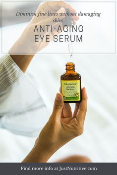 Our Anti-Aging Eye Serum is made with the best, wholesome ingredients in their purest and most potent form available to provide real nutrients and vitamins, which nourish and protect your skin.